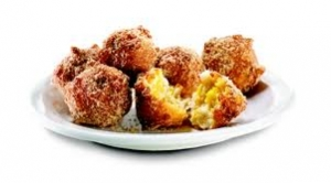 Denny's pancake puppies